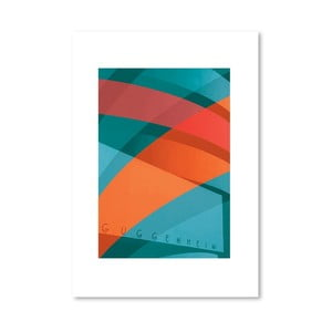 Autorský plagát Guggenheim
