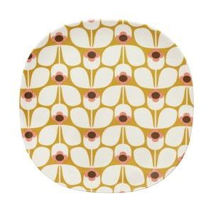 Veľký tanier Orla Kiely Wallflower Candy
