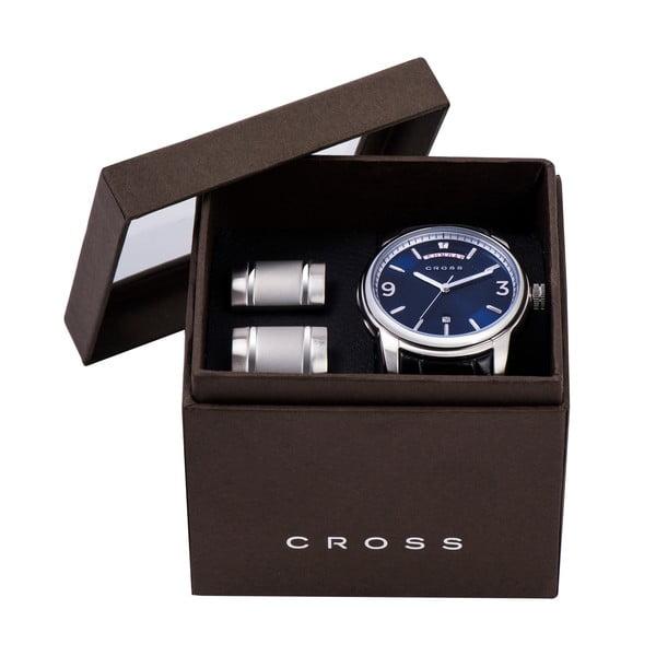 Set pánských hodinek a manžetových knoflíčků Palatino