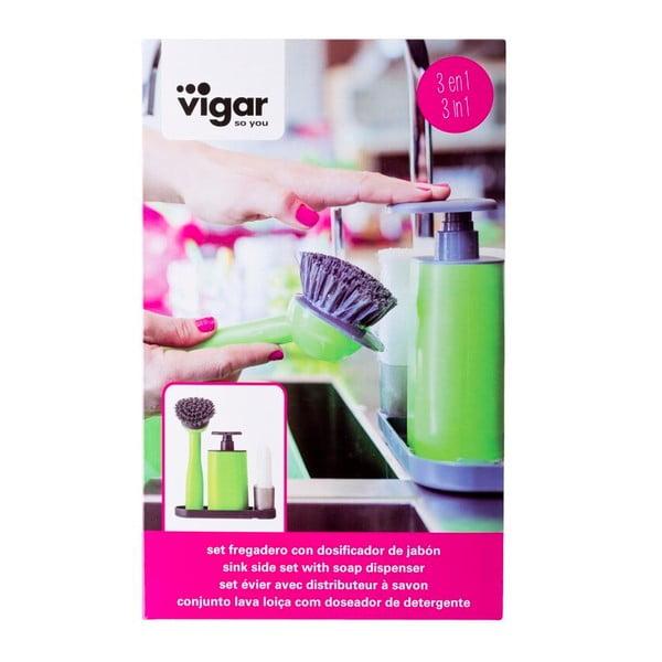 Sada na umývanie riadu Vigar Green Vibe