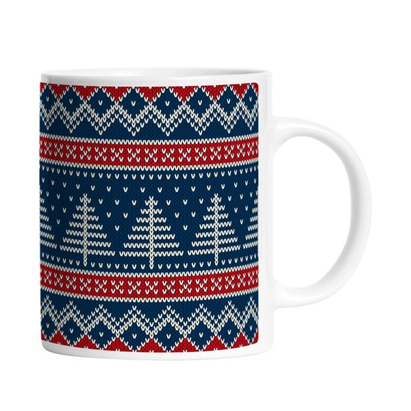Hrnček Knitted Mug, 330 ml