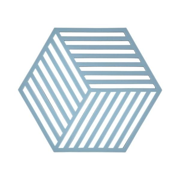 Podložka pod horúce nápoje Hexagon, svetlo modrá