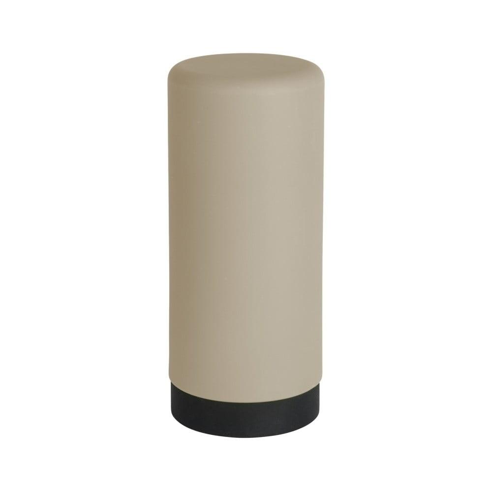 Hnedý silikónový dávkovač na tekuté mydlo Wenko Easy Squeez-e