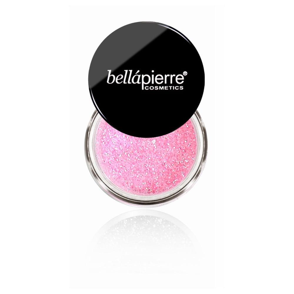 Trblietky na telo a oči Bellapierre Glitter Light Pink