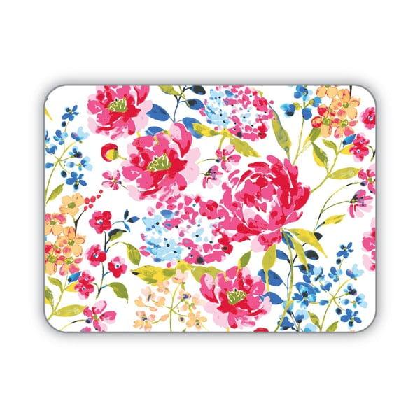 Sada 4 prestieraní Cooksmart England Floral Romance