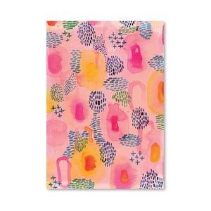 Plagát Water Colour Patterns, 30x42 cm