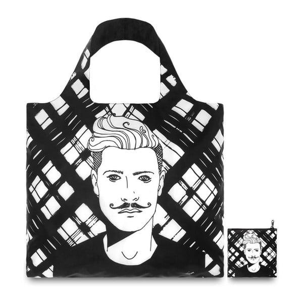 Skladacia nákupná taška Cat & Finn Neon