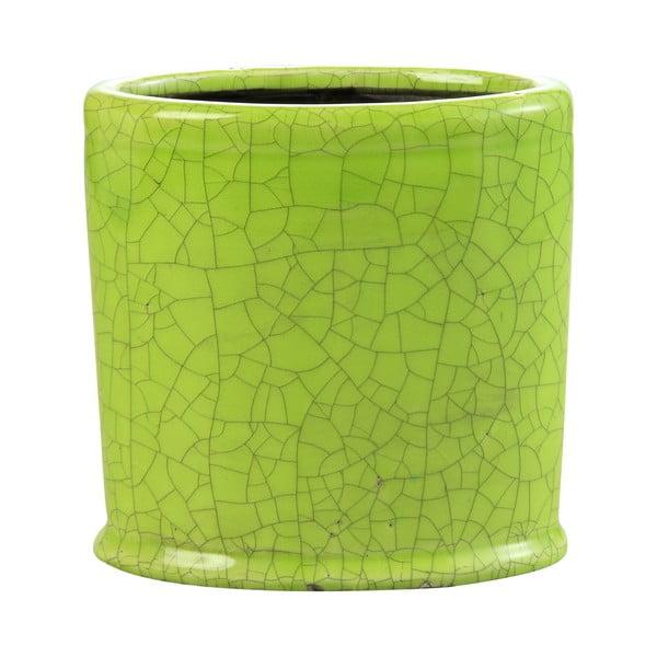 Kvetináč Binc 18 cm, zelený