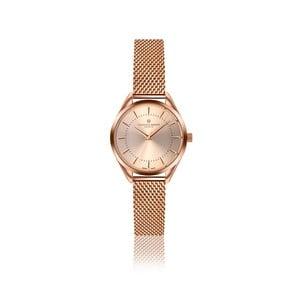 Dámske hodinky vo farbe ružového zlata s remienkom z antikoro ocele Frederic Graff Melissa