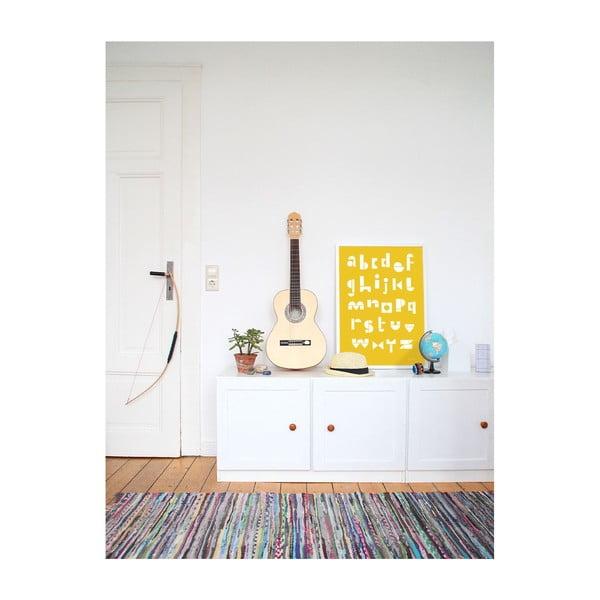 Plagát SNUG.ABC, 50x70 cm, žltý