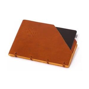 Koňakovohnedá kožená peňaženka Woox Minor Dilutus