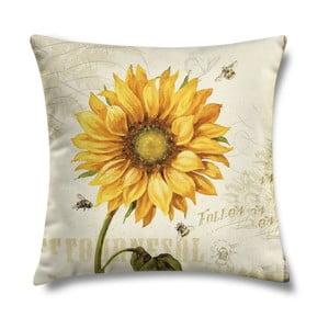 Vankúš Sunflower Two, 43x43 cm