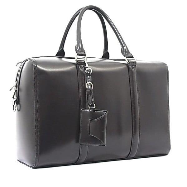 Taška/kabelka Bobby Black - Grey, 45x30 cm