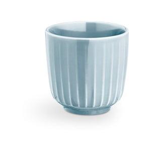 Svetlomodrý porcelánový hrnček na espresso Kähler Design Hammershoi, 1 dl