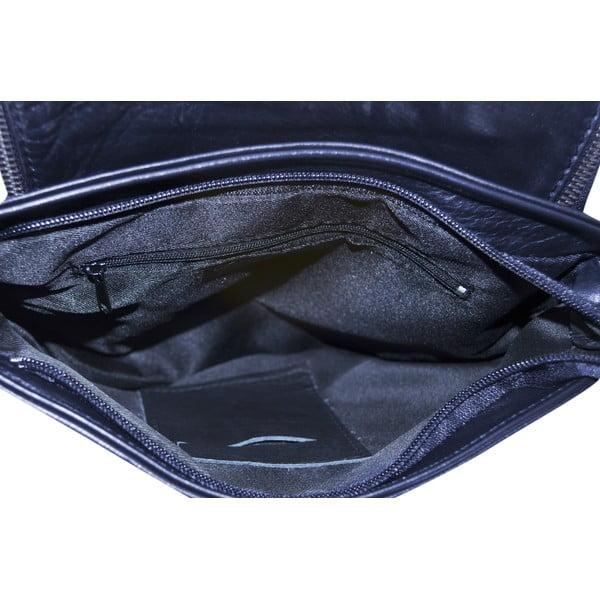 Kožená kabelka Celia, modrá