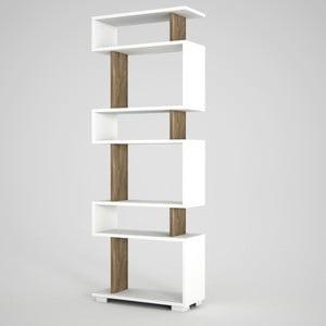 Bielo-hnedá knižnica Blok