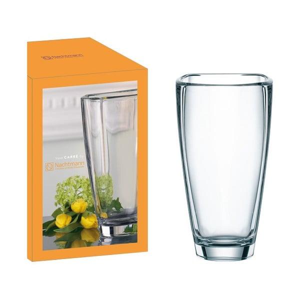 Váza z krištáľového skla Nachtmann Carré, 25 cm