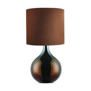 Stolová lampa Bulbo, hnědá