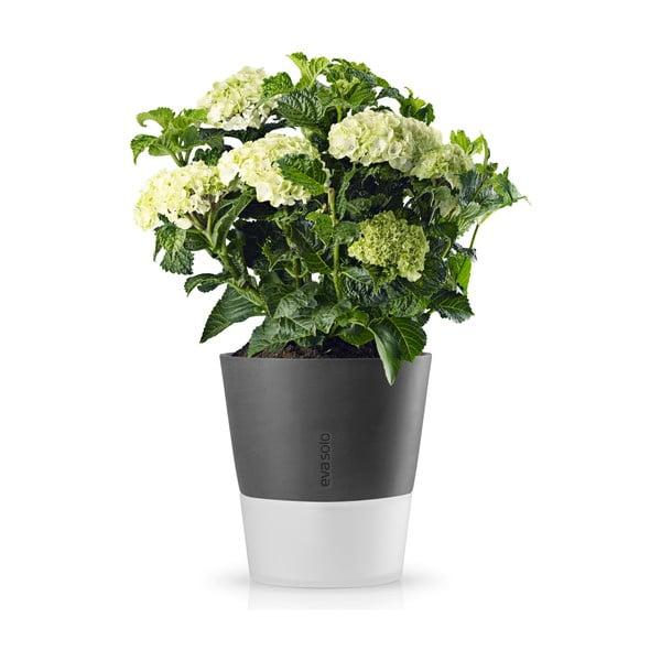 Samozalievací kvetináč  na bylinky Eva Solo Stone Grey, 25 cm