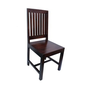 Stolička z palisandra Indigodecor Dark Brown