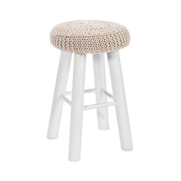 Stolička s pleteným sedátkom Cushion