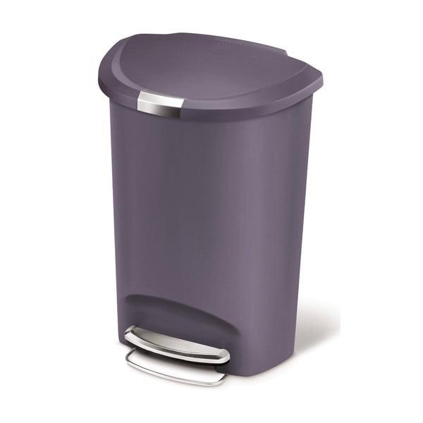 Pedálový kôš na odpadky Roundes 50 l, fialový