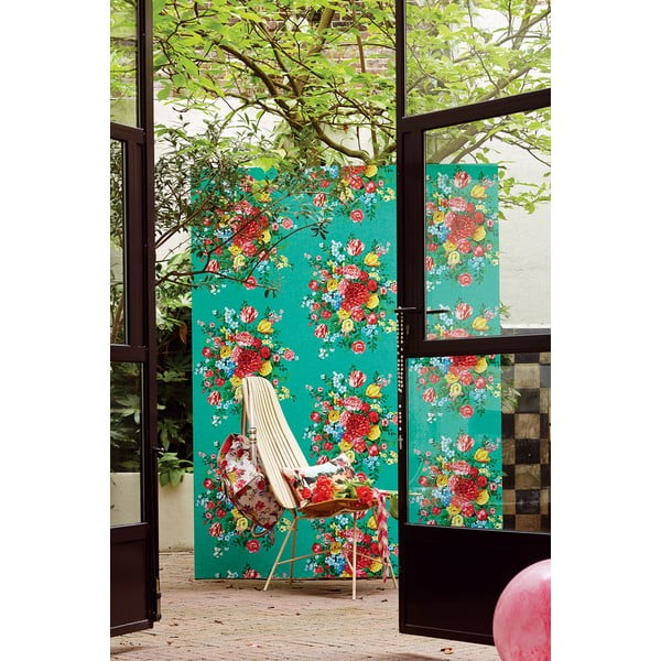 Tapeta Pip Studio Dutch Painters, 0,52x10 m, zelená