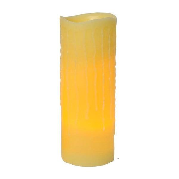 Vosková LED sviečka Real Candle, 40 cm