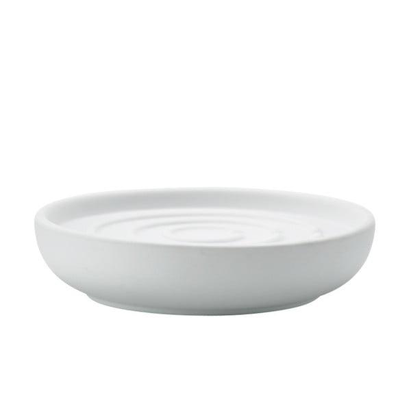 Biela miska na mydlo Zone Nova