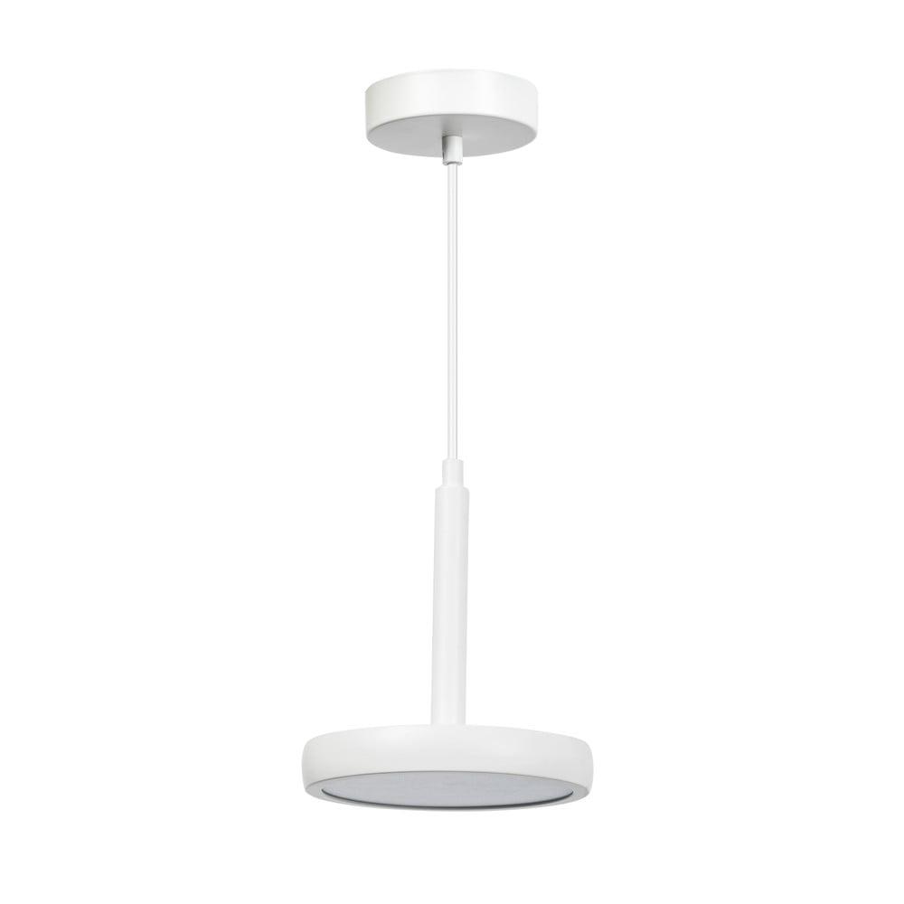 Biele kovové závesné svietidlo ETH Air