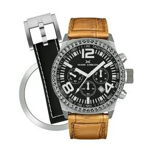 Dámske hodinky Marc Coblen s remienkom a krúžkom na ciferník naviac P72