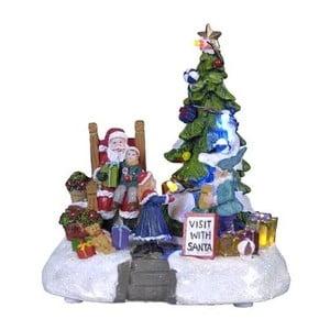 Svietiaca dekorácia Santa with Gifts