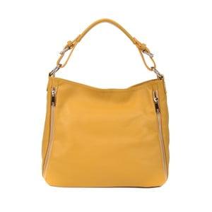 Žltá kožená kabelka Roberta M Munico