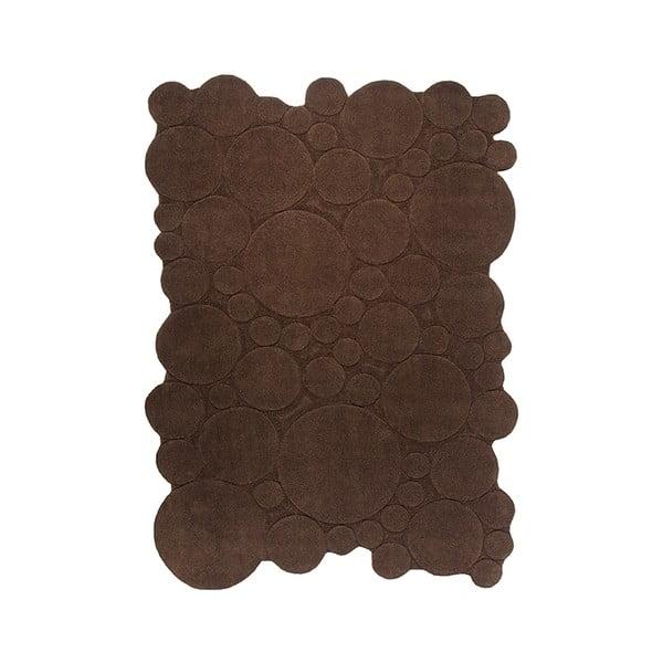 Koberec Esprit Circle Brown, 70x140 cm