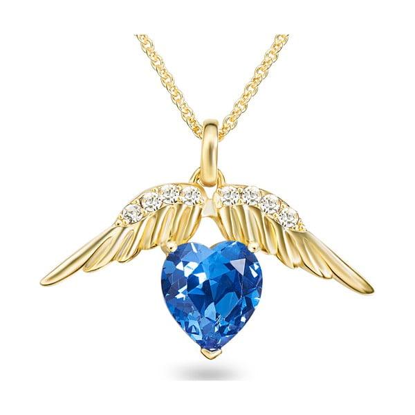 Náhrdelník so Swarovski Elements Heart Crystal