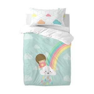 Detské obliečky z čistej bavlny Happynois Rainbow, 115×145cm
