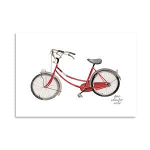 Autorský plagát Bicycle, 30x42 m