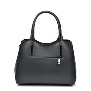 Čierna kožená kabelka Sofia Cardon Felicity