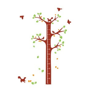 Nástenná samolepka Tree & Squirrel