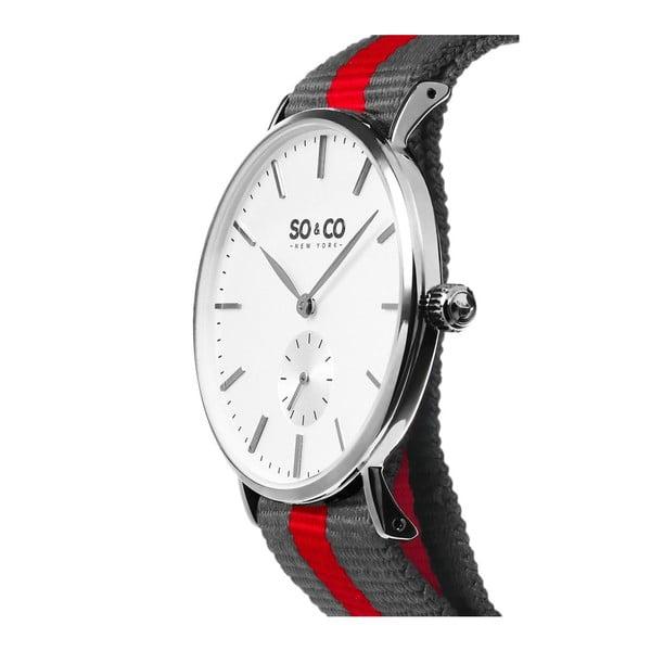 Pánske hodinky Madison Stripe Red/Grey