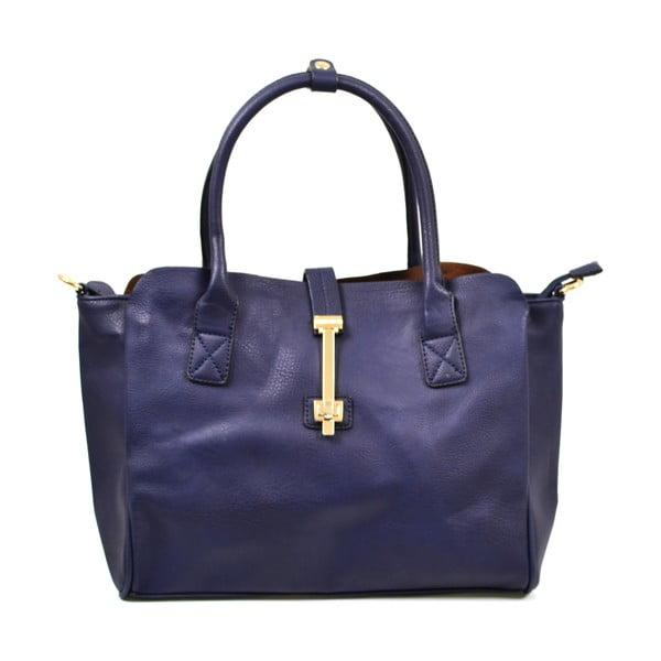 Kožená kabelka Alessia, modrá
