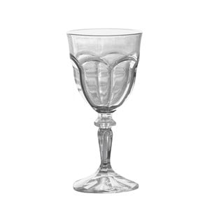 Sada 6 plastových pohárov na víno Sunvibes Happy, 250 ml