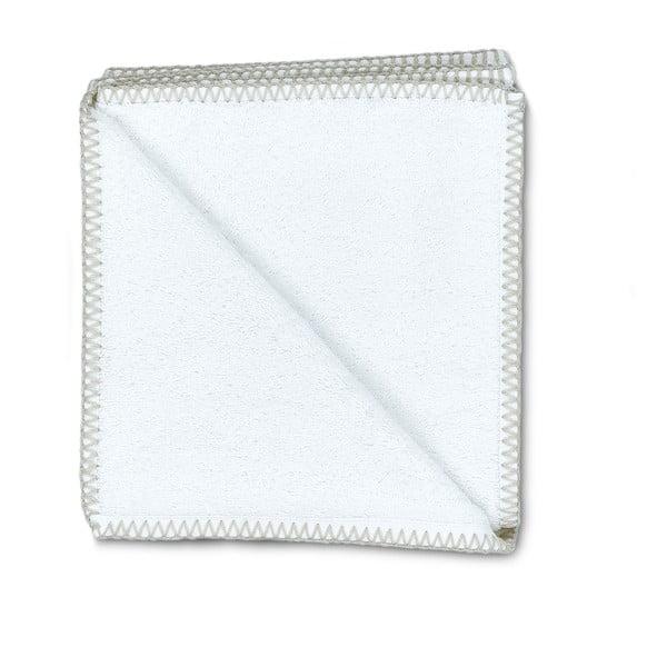 Sada 2 uterákov Whyte 50x90 cm, biela/béžová