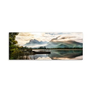 Obraz na plátne Styler Lake, 150 x 60 cm