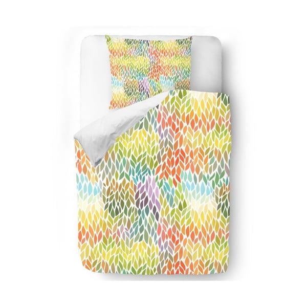 Obliečky Rainbow Leaves, 140x200 cm
