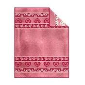 Deka Red Hearts, 150x200 cm