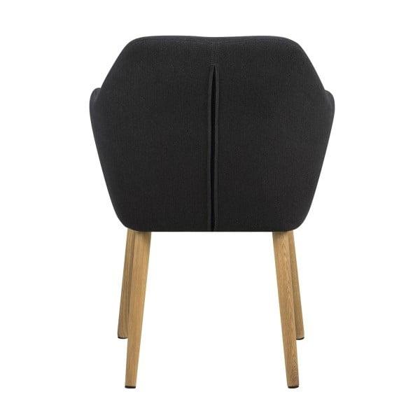 Tmavosivá jedálenská stolička Actona Emilia