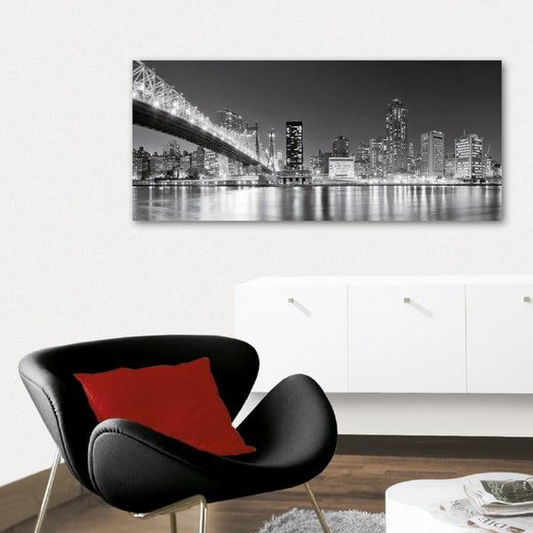 Dekoratívny nástenný panel Veľkomesto, 115x50 cm