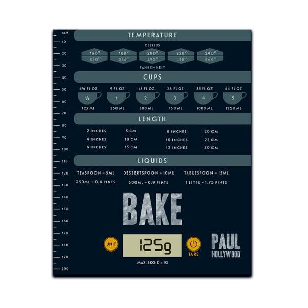 Kuchynská digitálna váha Paul Hollywood