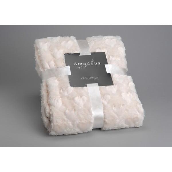 Deka Cream Amour, 170x130 cm